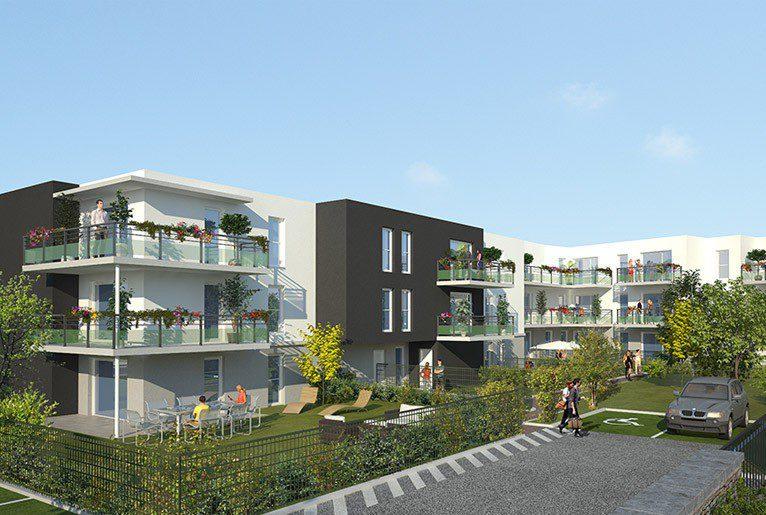 le clos du marronnier; programme immobilier neuf longvic; appartement neuf longvic