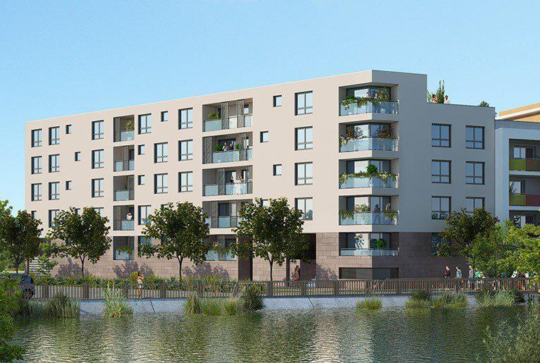 Les Jardins de l'Arsenal, eco quartier arsenal dijon; les jardins de l'arsenal ; appartement neuf dijon