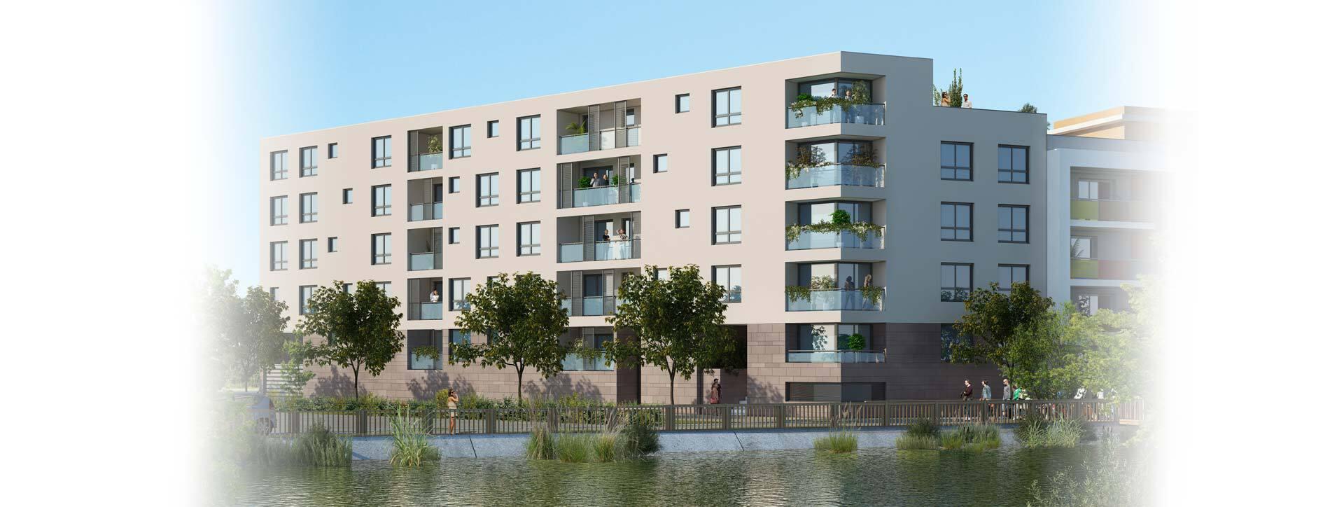 Appartements les Jardins de l'Arsenal