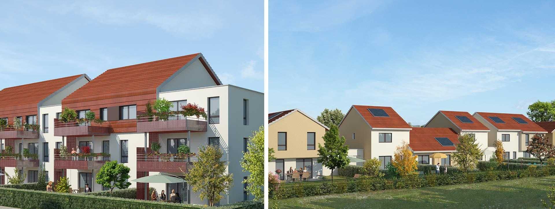 programme neuf résidence Kléber Granvillars