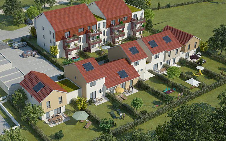 appartements et maisons neuves Grandvillars