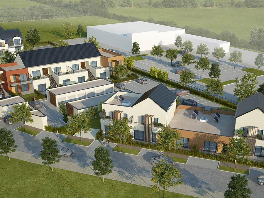 Résidence Insula, logements neufs
